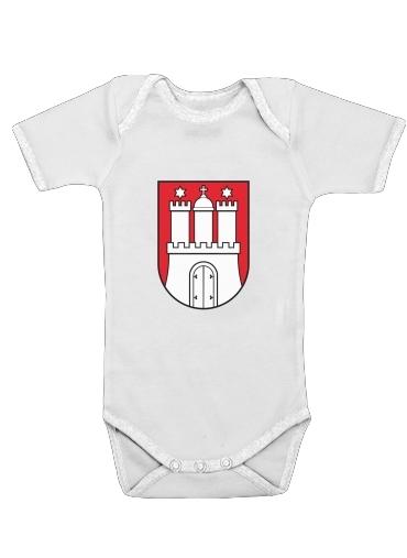 Onesies Baby Hamburg Flag