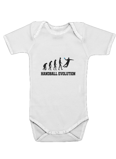 Onesies Baby Handball Evolution