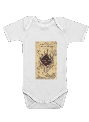 Marauder Map for Baby short sleeve onesies