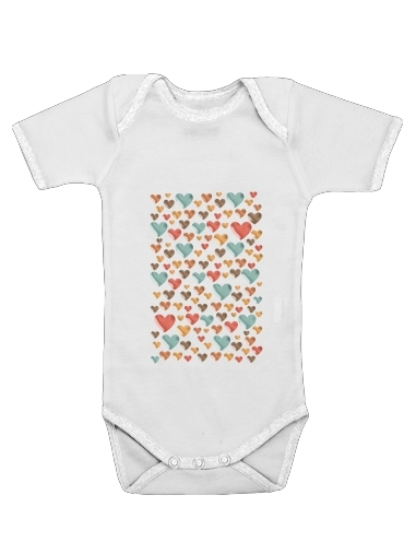 Hearts for Baby short sleeve onesies