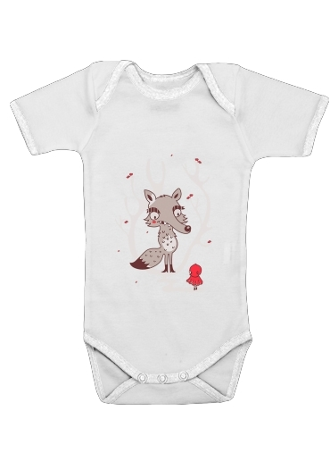 Hello big Worlf for Baby short sleeve onesies