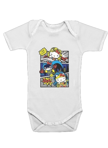 Hello Kitty X Heroes for Baby short sleeve onesies