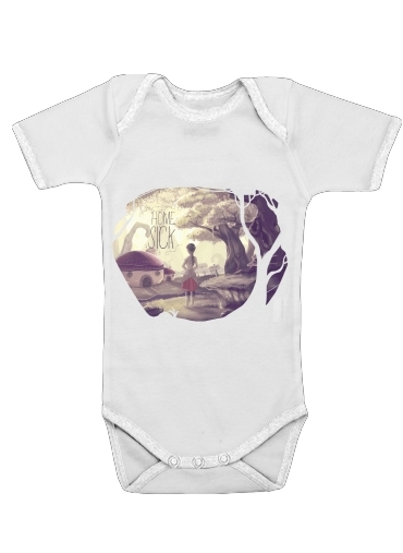 Homesick for Baby short sleeve onesies