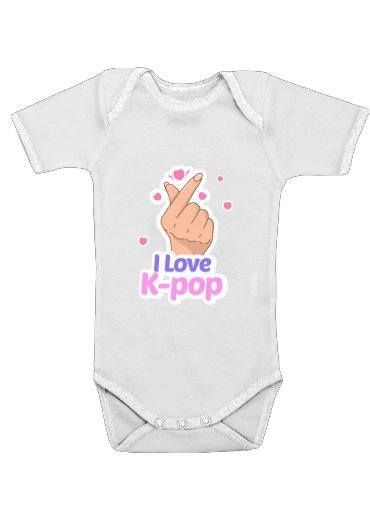 I love kpop for Baby short sleeve onesies