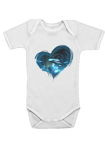 Ice Fairytale World for Baby short sleeve onesies