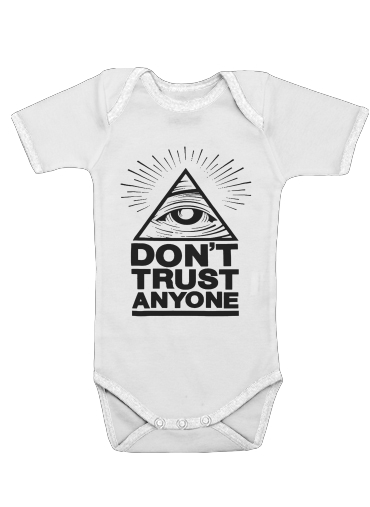 Onesies Baby Illuminati Dont trust anyone