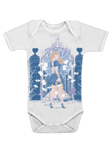 In my wonderland for Baby short sleeve onesies