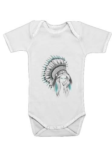 Onesies Baby Indian Headdress