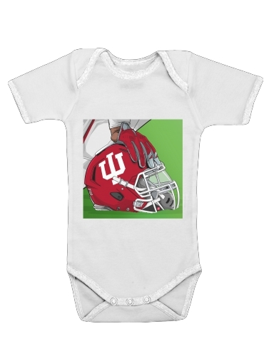 Onesies Baby Indiana College Football