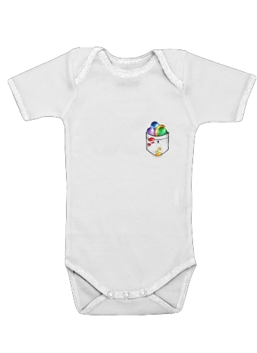 Infinity Gem Mind for Baby short sleeve onesies