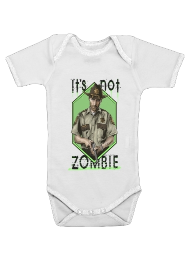 It's not zombie for Baby short sleeve onesies