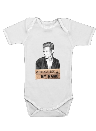 James Dean Perfection is my name for Baby short sleeve onesies
