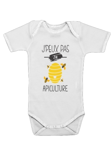 Je peux pas j ai apiculture for Baby short sleeve onesies