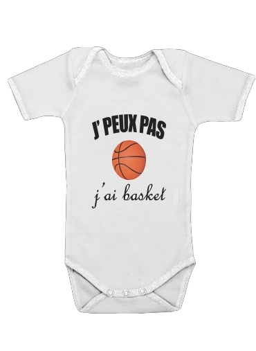 Je peux pas j ai basket for Baby short sleeve onesies