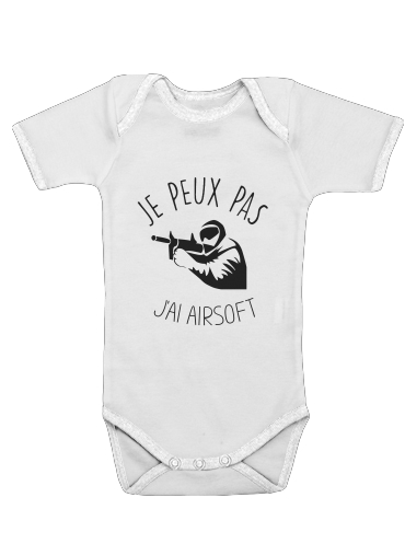 Onesies Baby Je peux pas jai Airsoft Paintball
