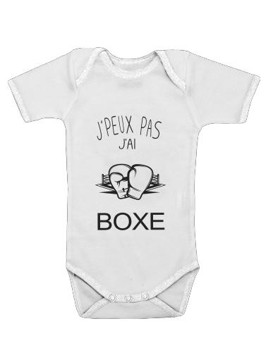 Onesies Baby Je peux pas jai Boxe
