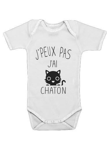 Onesies Baby Je peux pas jai chaton