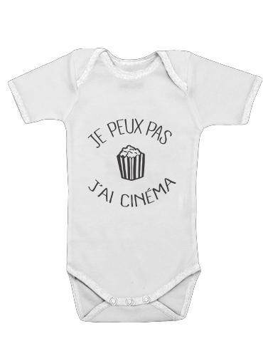Onesies Baby Je peux pas jai cinema