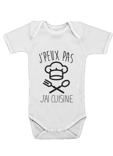 Onesies Baby Je peux pas jai cuisine