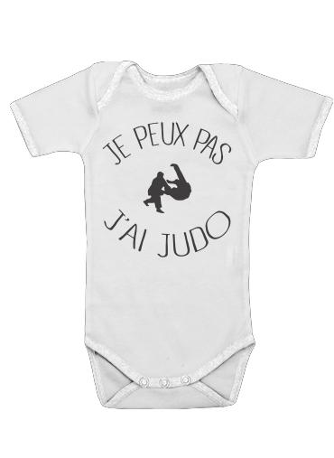 Onesies Baby Je peux pas jai Judo ceinture