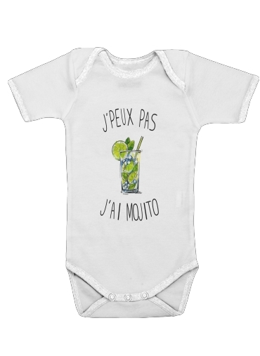 Je peux pas jai mojito for Baby short sleeve onesies