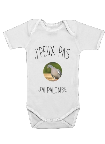 Je peux pas jai palombe for Baby short sleeve onesies