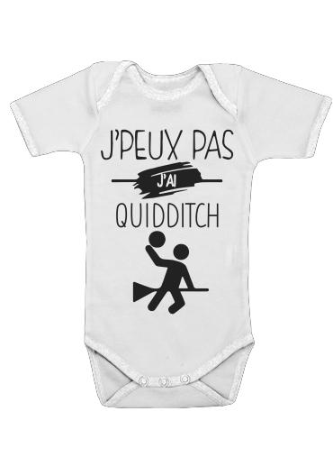 Onesies Baby Je peux pas jai Quidditch