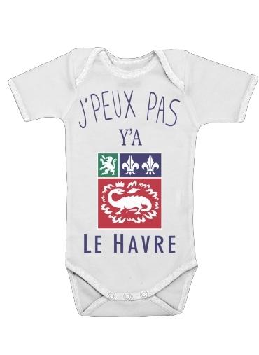 Onesies Baby Je peux pas ya le Havre