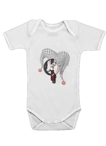 Joker girl for Baby short sleeve onesies