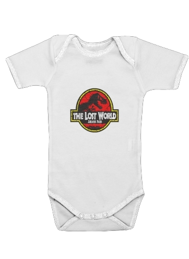 Jurassic park Lost World TREX Dinosaure for Baby short sleeve onesies