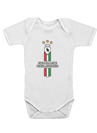 JUVENTUS TURIN Home 2018 for Baby short sleeve onesies