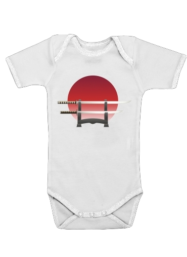 Onesies Baby Katana Japan Traditionnal