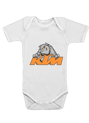 Onesies Baby KTM Racing Orange And Black
