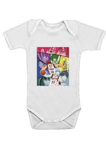 Kuroko no basket Generation of miracles for Baby short sleeve onesies