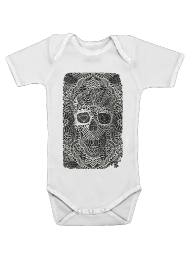 Lace Skull for Baby short sleeve onesies