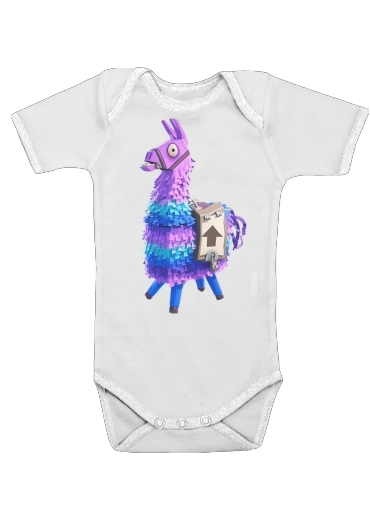 Lama Fortnite for Baby short sleeve onesies