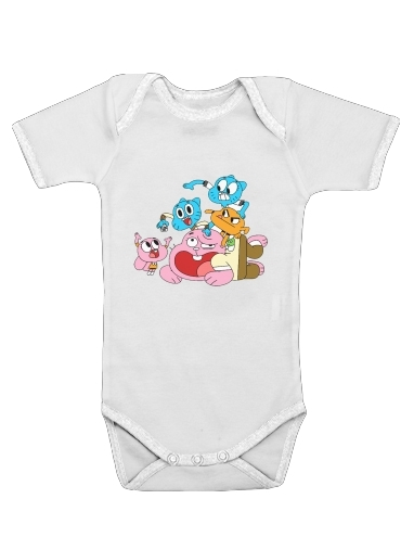 le monde incroyable de gumball for Baby short sleeve onesies