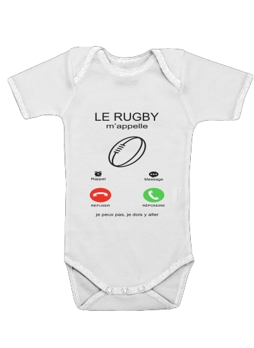 Onesies Baby Le rugby mappelle