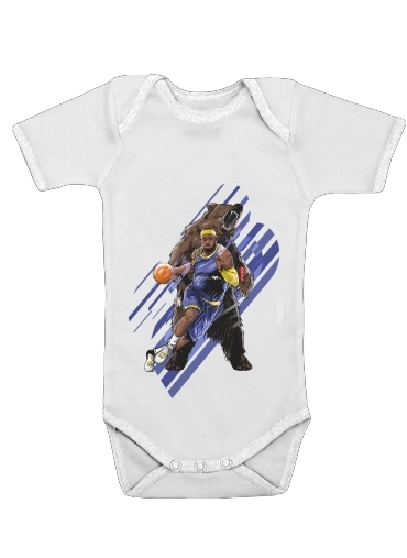 LeBron Unstoppable  for Baby short sleeve onesies