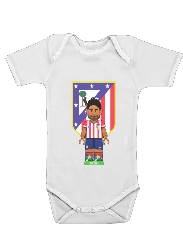 Lego Football: Atletico de Madrid - Diego Costa for Baby short sleeve onesies