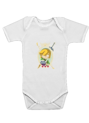 Link Portrait for Baby short sleeve onesies