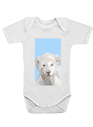 lion for Baby short sleeve onesies