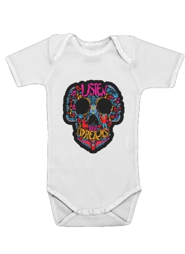 Listen to your dreams Tribute Coco for Baby short sleeve onesies