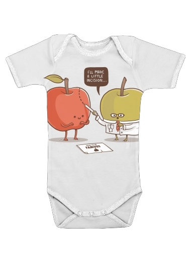 Famous Apple for Baby short sleeve onesies