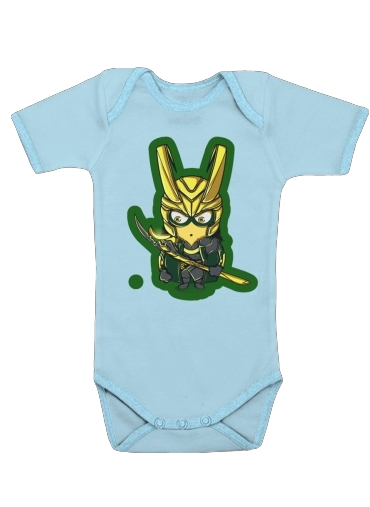 LokiNion for Baby short sleeve onesies