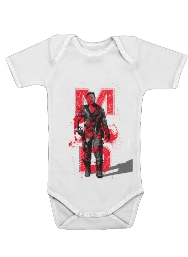 Mad Hardy Fury Road for Baby short sleeve onesies