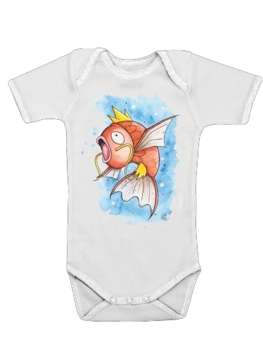 Magicarpe Pokemon Water Fish for Baby short sleeve onesies