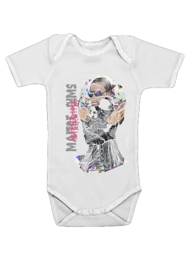 Maitre Gims - zOmbie for Baby short sleeve onesies