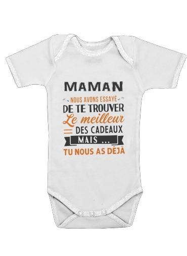 Onesies Baby Maman nous avons essaye de trouver le meilleur des cadeaux