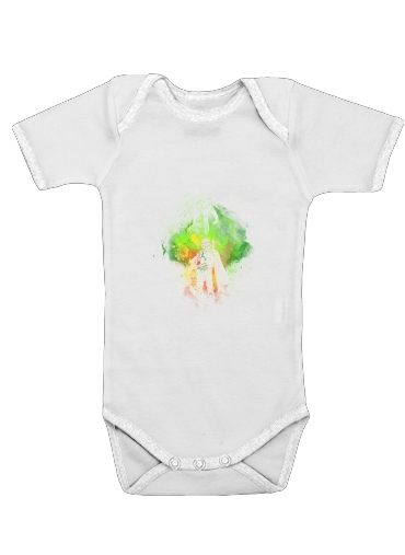 Mandalore Art for Baby short sleeve onesies